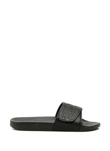 Salvatore Ferragamo Spor Sandalet Siyah